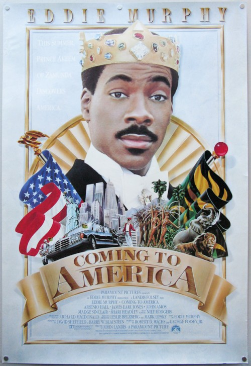 Waiching S Movie Thoughts More Retro Review Coming To America 1988