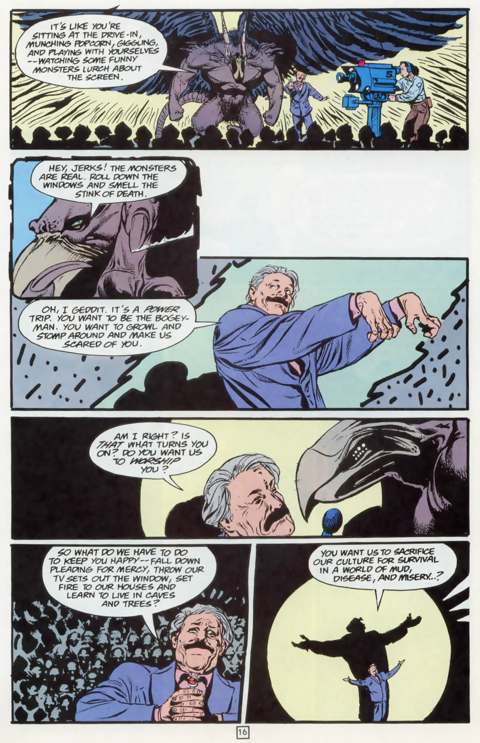Read online Animal Man (1988) comic -  Issue #73 - 17