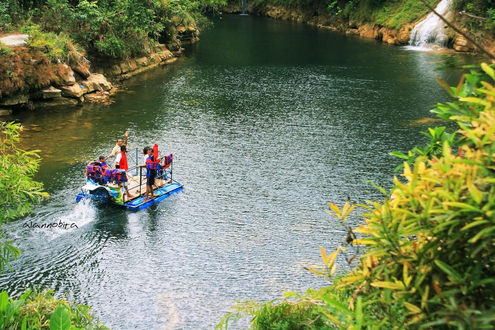 Sungai Oyo yang Ciamik