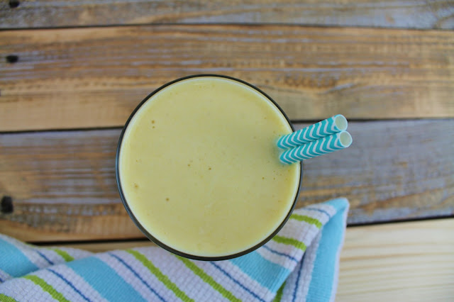 Mango Peach Protein Smoothie Recipe