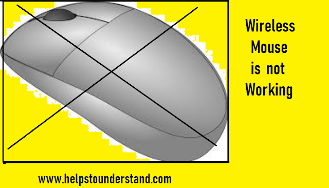 Helpstounderstand.com - Wireless mouse is not working problem solved .