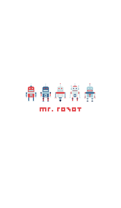 MR. ROBOT (WHITE)