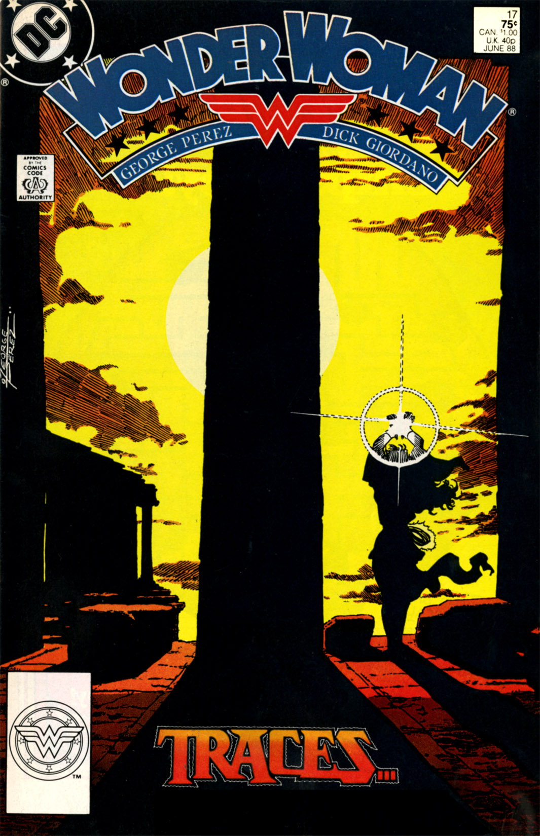 Read online Wonder Woman (1987) comic -  Issue #17 - 1