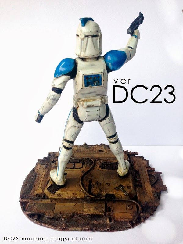 Star Wars Stormtrooper Figure verDC23 Photo