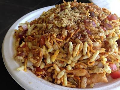 ramazan special chat pati bhel puri mix recipe in urdu