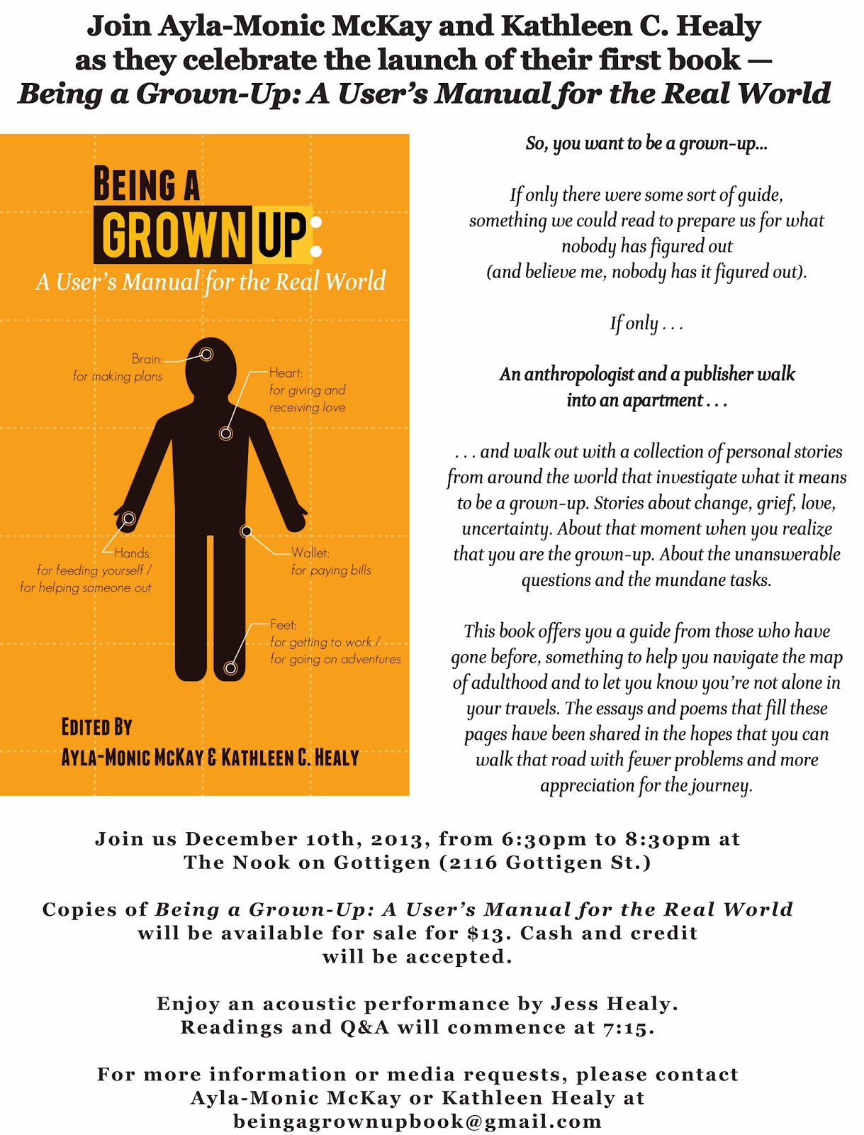 being a grown up a user s manual for the real world sunday 8 2013