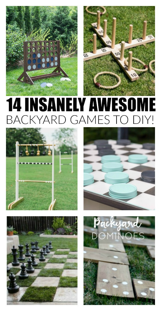 backyard games to DIY