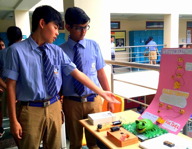 Pathways school noida science day at pathways noida - Innovative water decontamination project ...