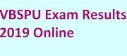 VBSPU BA, BSC, B.Com 1, 2, 3 Year Results 2019-20 Exam Merit List Rank Cards on vbspuonline.in