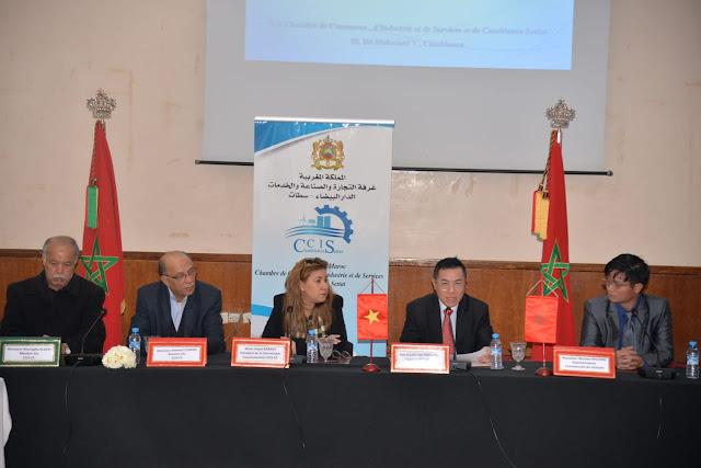 « L'économie du Vietnam et les potentiels d'export et d'import entre le Maroc et le Vietnam »