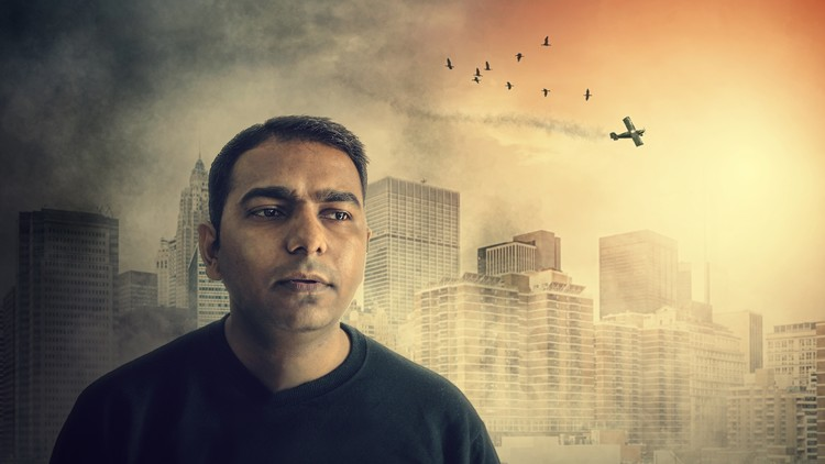 Become Expert in Photo Manipulation Photoshop City on Attack