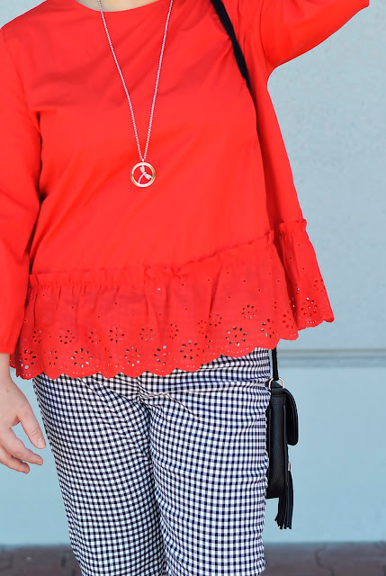 stylizacja na lato, summer look, red look