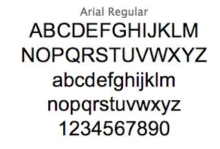 フォントの歴史を探る・フォントArialアリアルについて
