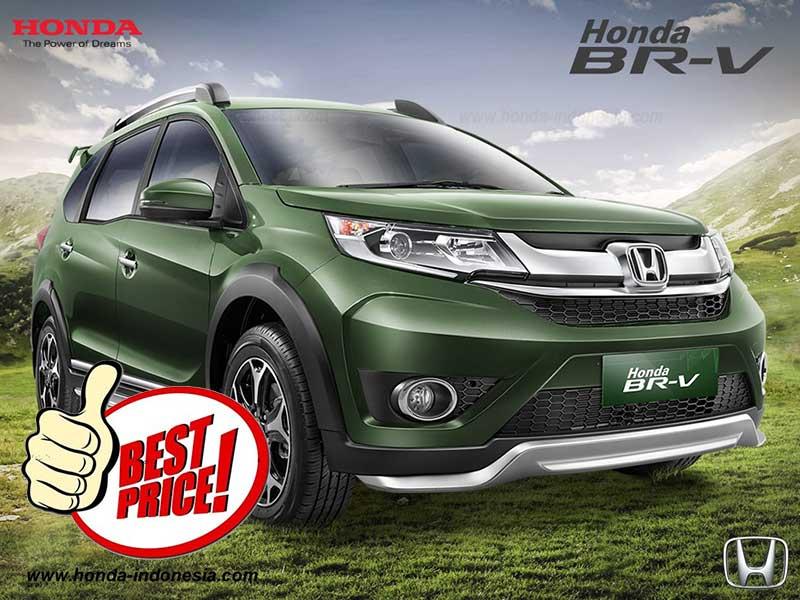 Daftar Harga OTR Mobil Honda BRV Bandung 2016
