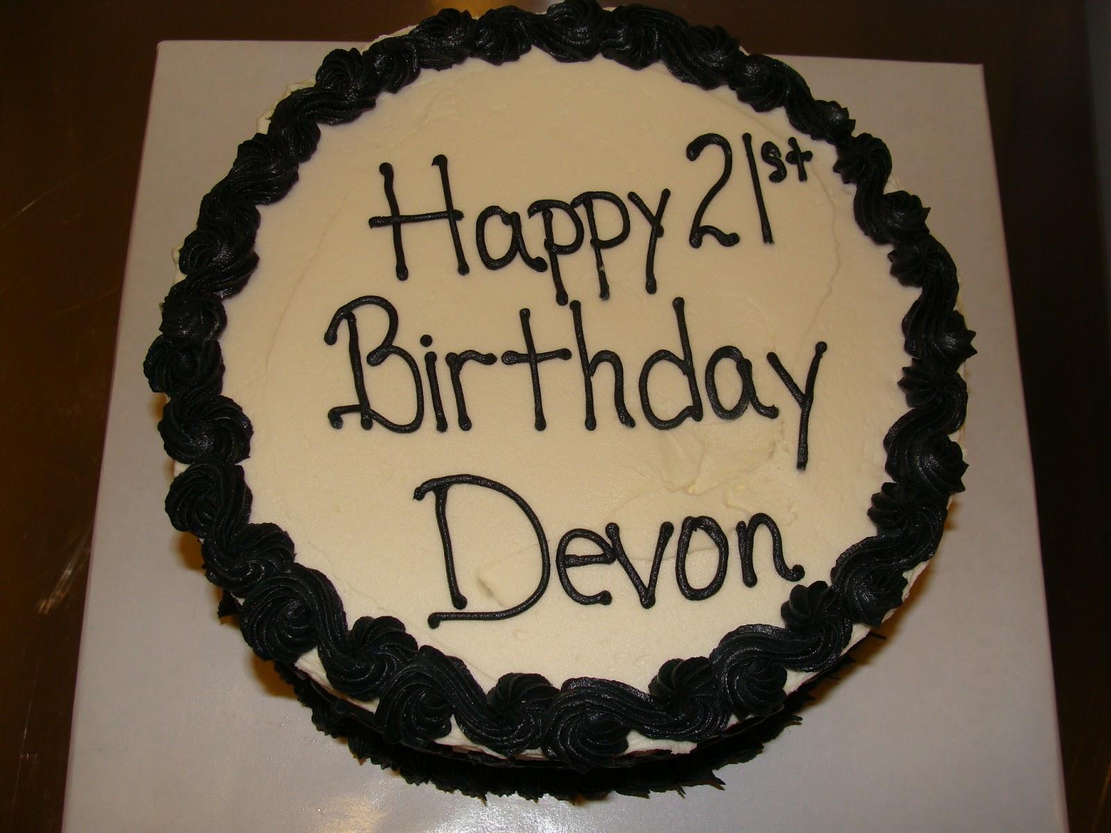 Door County Custom Cakes And Cookies Devon S 21st