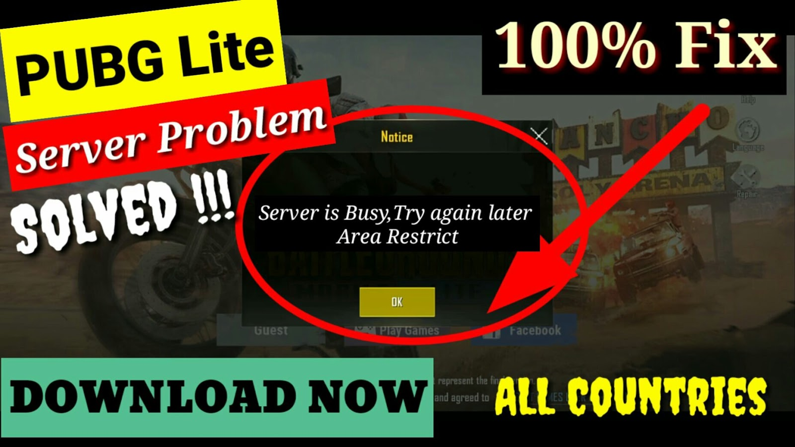 pubg lite servers are too busy please try again later