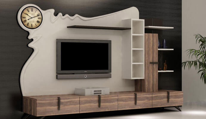 Top 40 modern TV cabinets designs - Living room TV wall units 2019 ...