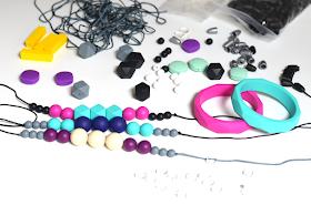 Bo&Bel, teething jewelry, teething necklace, childrenchangingcareers