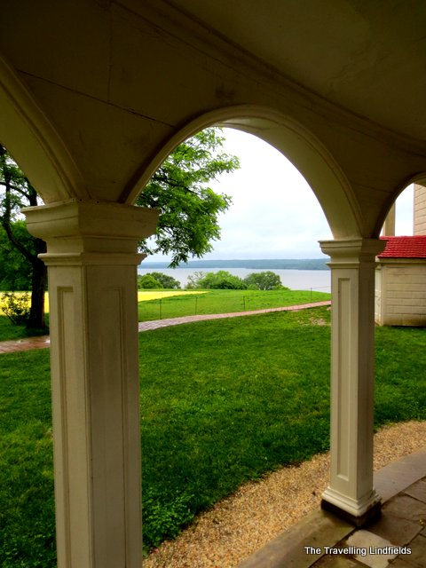 Mount Vernon looking to the Potomac