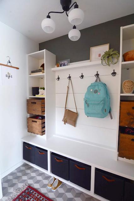 Mudroom Reveal | House Homemade