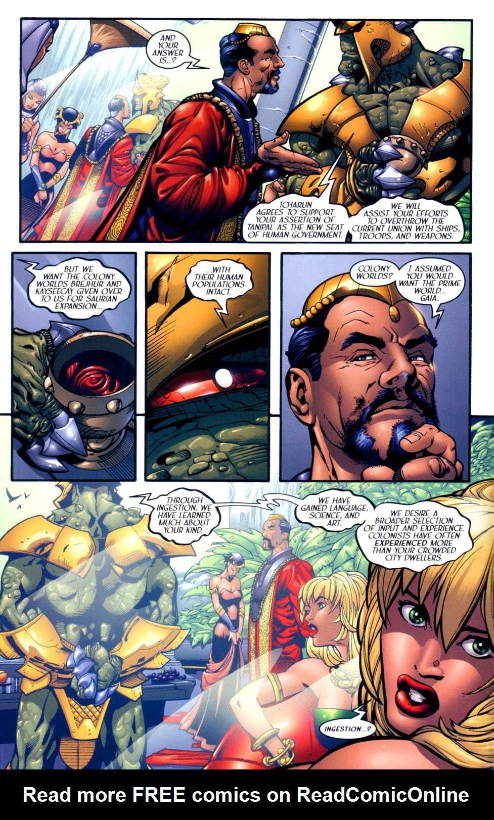 Read online Sigil (2000) comic -  Issue #10 - 5