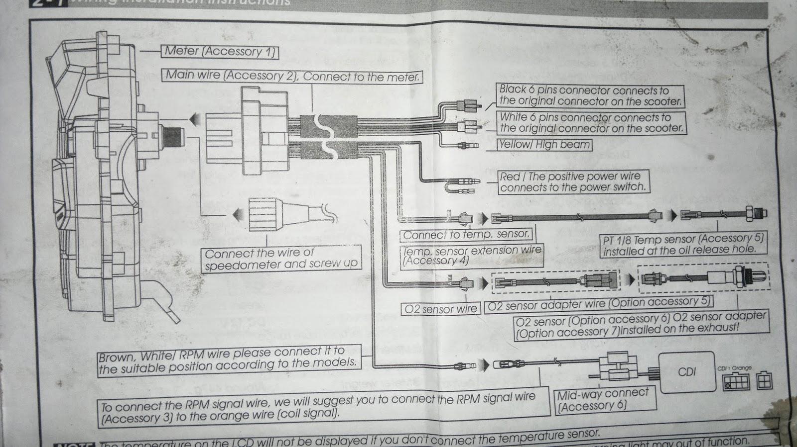 Prosport Water Temp Gauge Wiring Diagram