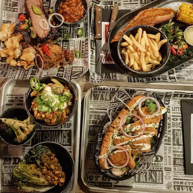red's true bbq leeds new menu