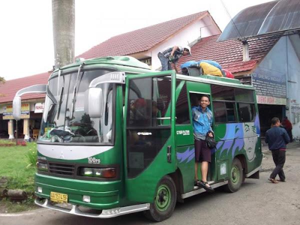 Akses Menuju Dieng Wonosobo Dari Jakarta