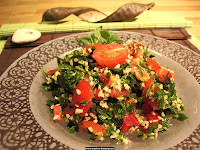 tabouli food from brazil arabic