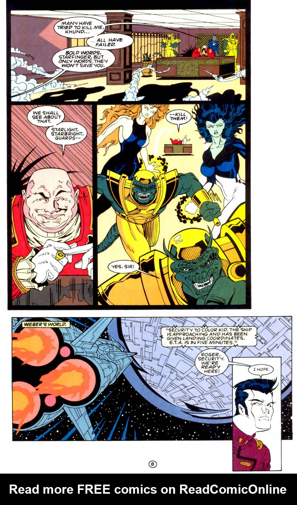 Legion of Super-Heroes (1989) 57 Page 8