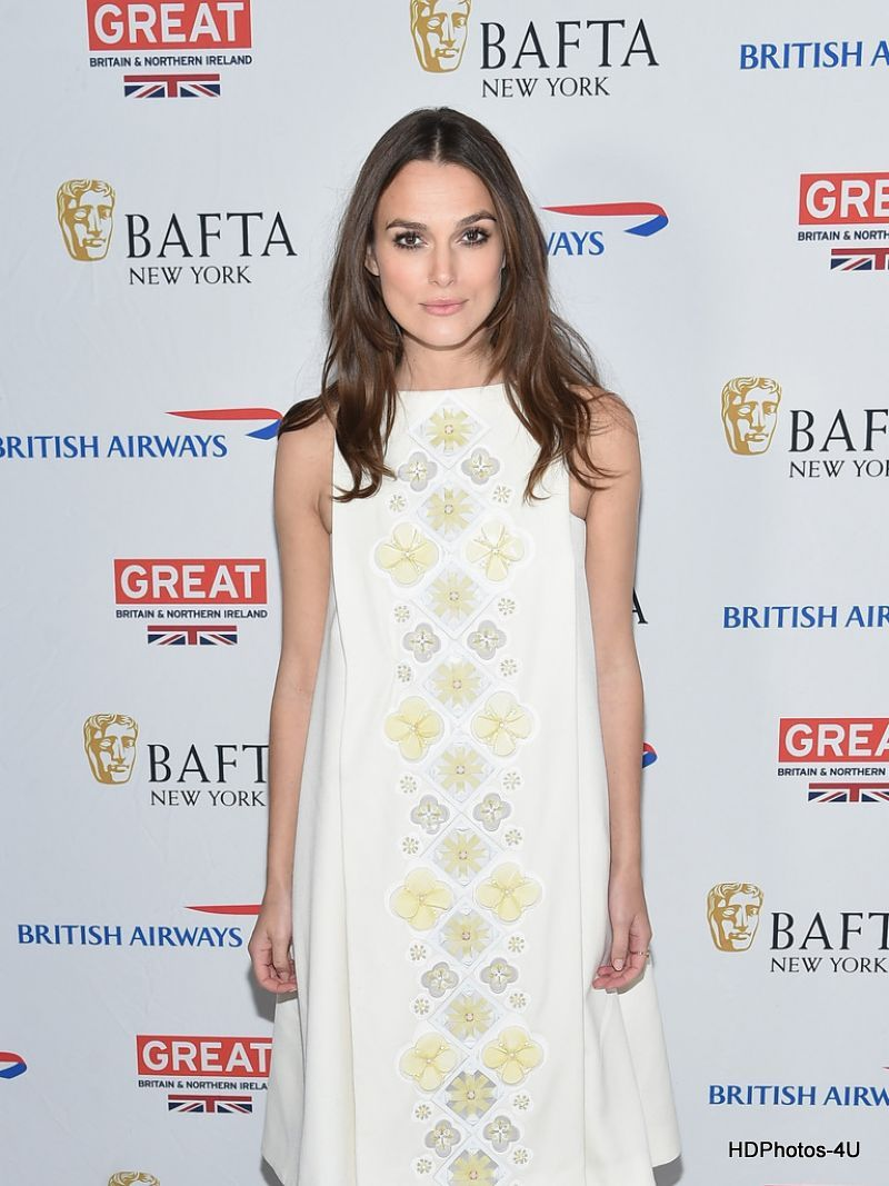 HQ Photos of Keira Knightley At BAFTA New York Presents In Conversation With Keira Knightley
