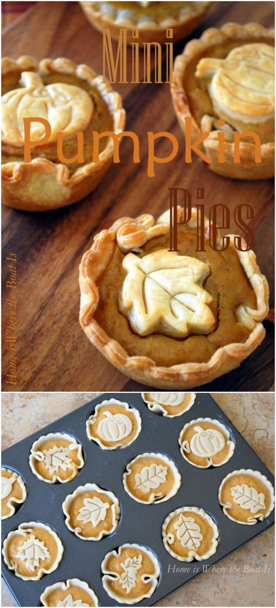 ★★★★☆ 7561 ratings | Mini Pumpkin Pies and a Blooming Can #HEALTHYFOOD #EASYRECIPES #DINNER #LAUCH #DELICIOUS #EASY #HOLIDAYS #RECIPE  #Mini #Pumpkin #Pies #Blooming #Can
