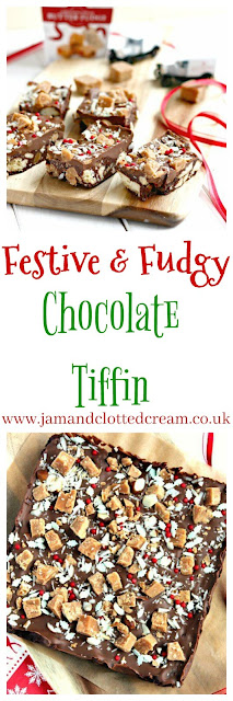 Festive Fudgy Chocolate Tiffin