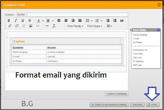 Cara Membuat Form Contact Us Menarik pada Blog