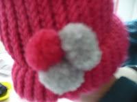 Como hacer gorros de lana, con telar circular