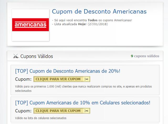 Dica de site de cupom de desconto para economizar nas compras online