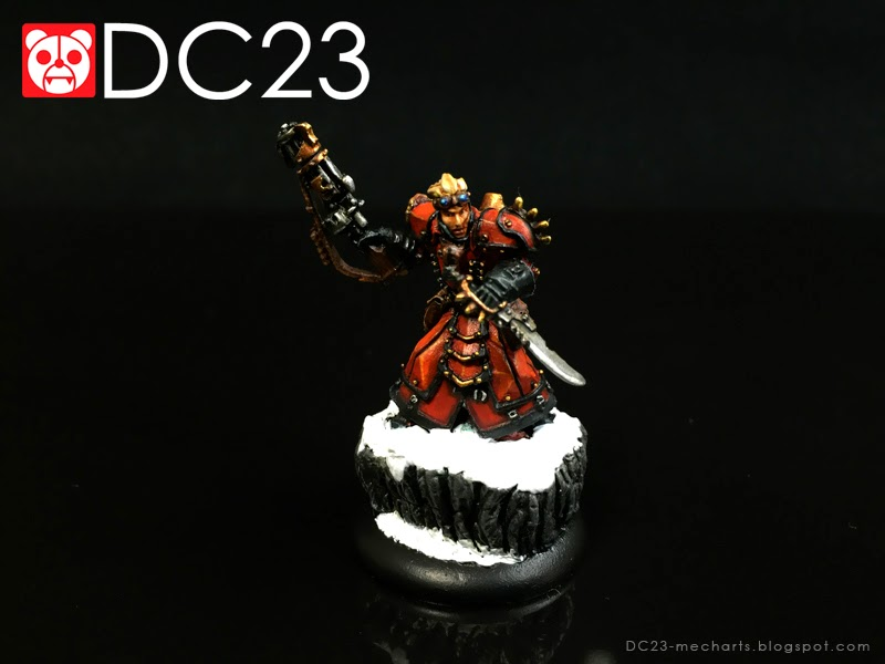 Warmachine Khador Warcaster Kommander Strakhov verDC23photo