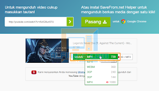 Download Musik dan video diyoutube