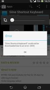 Mengatasi Error Saat Download di Playstore