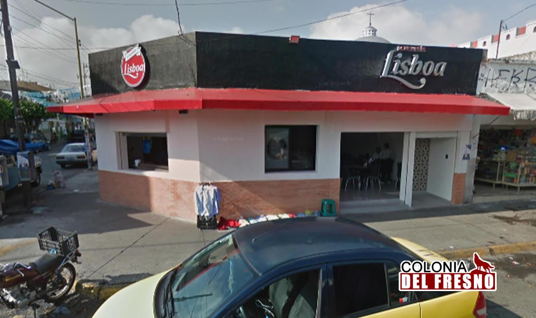 Fachada del restaurante la lisboa ubicado en la colonia del fresno en Guadalajara