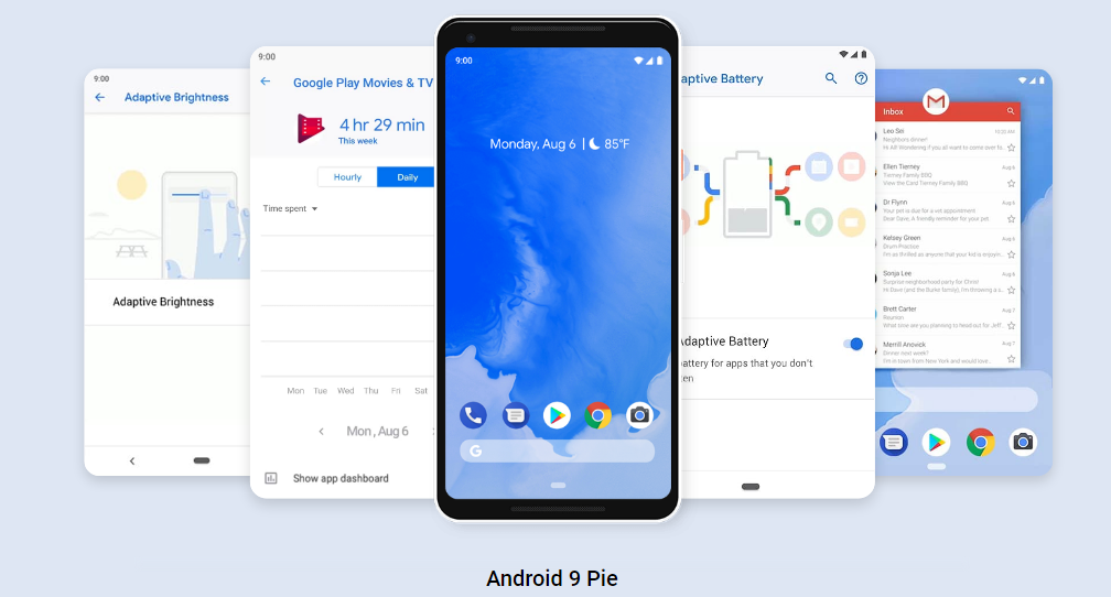 Android Latest Version Updates :Android 9 Pie