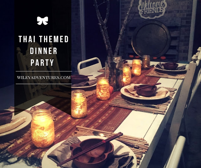 Thai Dinner Party Ideas Part - 27: Wiley Adventures