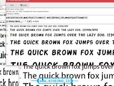 Download Font Pack 1500 Jenis Font Lebih
