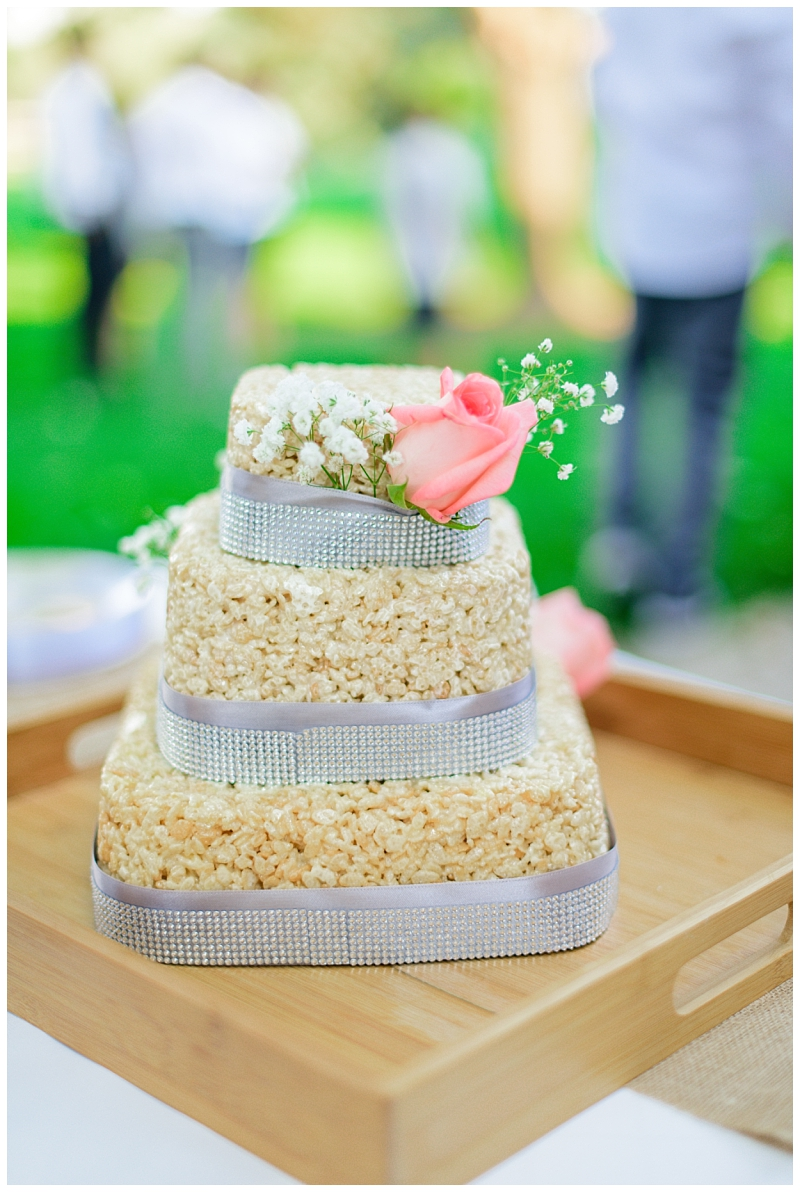 Rice Krispie Wedding Cake Cost