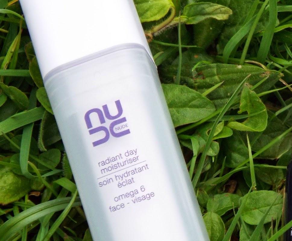 nude skincare radiant day moisturiser