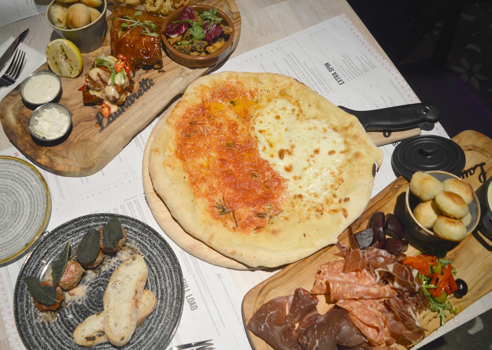 The Laundrette, Newcastle - Cocktails and Carbs