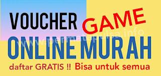 Harga voucher game online murah