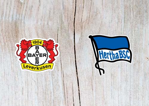 Bayer Leverkusen vs Hertha Berlin - Highlights 22 December 2018