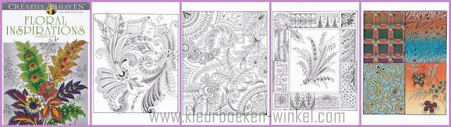 kleurboek  floral inspirations