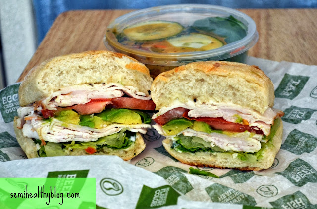 turkey avocado sandwich